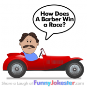 Funny Kids Joke - Barber Joke