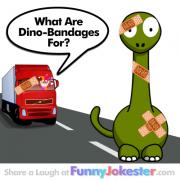 Funny Dinosaur Joke: