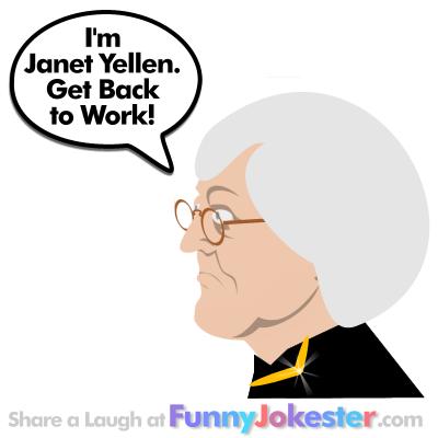 Really Funny Janet Yellen Joke!