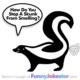 Funny Skunk Joke