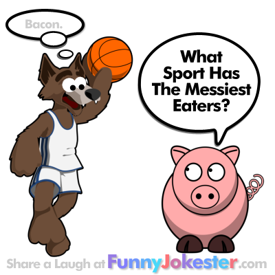 Funny sports jokes for kids