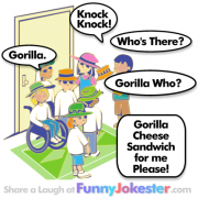 Gorilla Knock Knock Joke