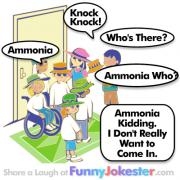 Ammonia Knock Knock Joke