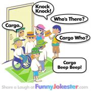 Cargo Knock Knock Jokes