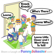 Leena Knock Knock Joke