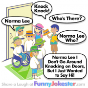 Norma Lee Knock Knock Joke