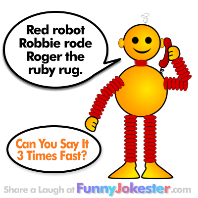 Robot Tongue Twister