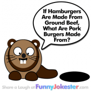Bad Joke - Pork Burgers
