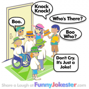 Boo Knock Knock Joke