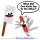 Funny Knife Joke