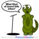 Funny Lizard Joke