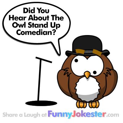 owl joke archives   funny jokes