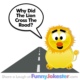 Funny Lion Cross The Road Joke
