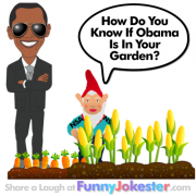 New Funny Obama Joke