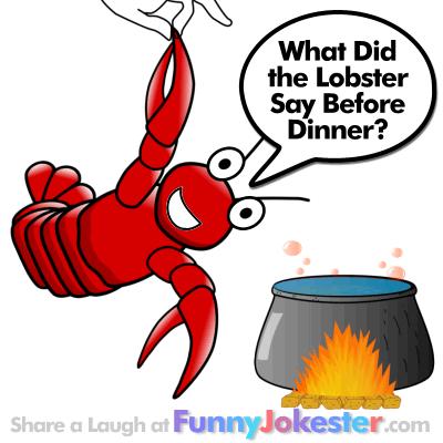 Funny Lobster Joke! New Funny Cooking Jokes!
