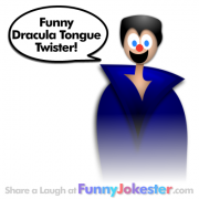 Dracula Tongue Twister!