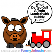 Funny Train Joke for Kids
