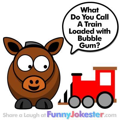 Funny Train Joke for Kids