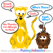 Cash Knock Knock Jokes
