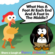 Easy Foot RiddleEasy Foot Riddle