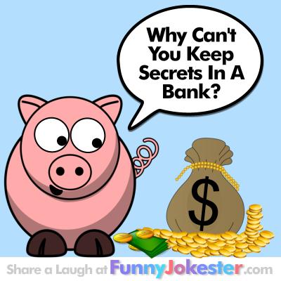 Funny Bank Joke