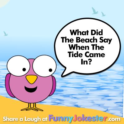 New Funny Beach Joke Summer Vacation At Funny Jokester