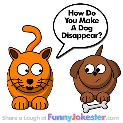 Funny Cat and Dog Joke for Kids