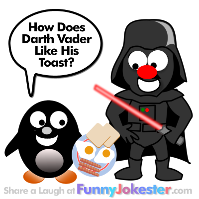 Funny Darth Vader Joke for Kids!