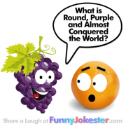Funny History Joke! New Purple Grape Joke!