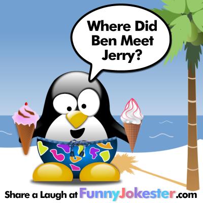 Funny Ice Cream Joke