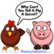 Funny Pig Joke