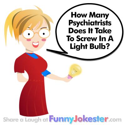 Funny Psychiatrist Joke