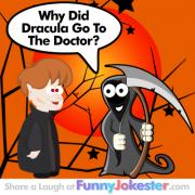 Funny Halloween Dracula Joke