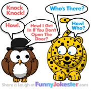 NEW! Funny Knock Knock Joke Howl the Owl