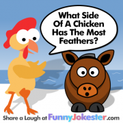 Chicken Feathers Joke
