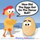 Funny Chicken Telling Egg Joke