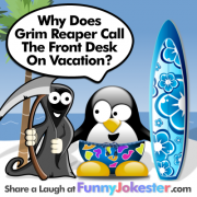 Funny Grim Reaper Joke