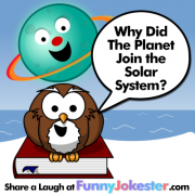 Funny Planet Joke