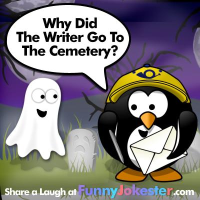 Funny Writer Joke