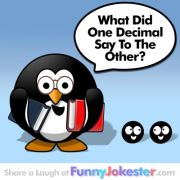 Math Joke Decimal Joke
